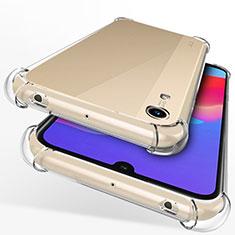 Custodia Silicone Trasparente Ultra Sottile Morbida T12 per Huawei Y6s Chiaro
