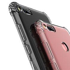 Custodia Silicone Trasparente Ultra Sottile Morbida T12 per Xiaomi Mi A1 Chiaro