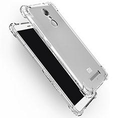 Custodia Silicone Trasparente Ultra Sottile Morbida T12 per Xiaomi Redmi Note 3 Chiaro