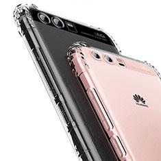 Custodia Silicone Trasparente Ultra Sottile Morbida T14 per Huawei Honor 9 Chiaro