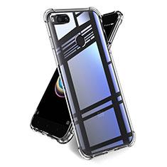 Custodia Silicone Trasparente Ultra Sottile Morbida T14 per Xiaomi Mi A1 Chiaro