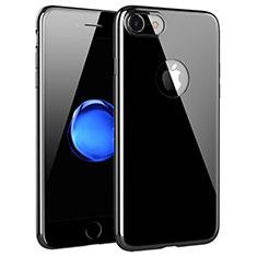 Custodia Silicone Trasparente Ultra Sottile Morbida T15 per Apple iPhone 7 Chiaro