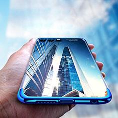 Custodia Silicone Trasparente Ultra Sottile Morbida T15 per Huawei Honor 9 Premium Blu