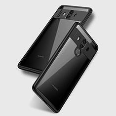 Custodia Silicone Trasparente Ultra Sottile Morbida T15 per Huawei Mate 10 Chiaro