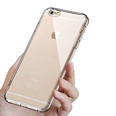 Custodia Silicone Trasparente Ultra Sottile Morbida T16 per Apple iPhone 6 Plus Chiaro