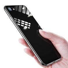 Custodia Silicone Trasparente Ultra Sottile Morbida T16 per Apple iPhone 8 Chiaro