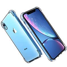 Custodia Silicone Trasparente Ultra Sottile Morbida T16 per Apple iPhone XR Chiaro