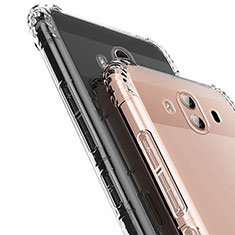 Custodia Silicone Trasparente Ultra Sottile Morbida T16 per Huawei Mate 10 Chiaro