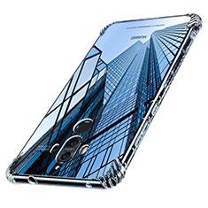 Custodia Silicone Trasparente Ultra Sottile Morbida T16 per Huawei Mate 9 Chiaro