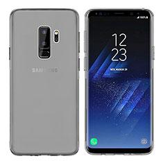 Custodia Silicone Trasparente Ultra Sottile Morbida T20 per Samsung Galaxy S9 Plus Grigio