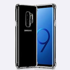 Custodia Silicone Trasparente Ultra Sottile Morbida T22 per Samsung Galaxy S9 Plus Chiaro