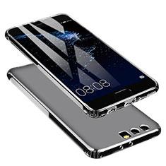 Custodia Silicone Trasparente Ultra Sottile Morbida U01 per Huawei P10 Plus Chiaro