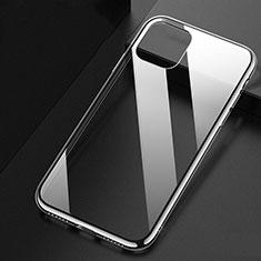 Custodia Silicone Trasparente Ultra Sottile Morbida U02 per Apple iPhone 11 Chiaro