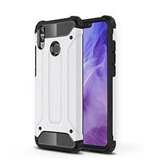 Custodia Silicone Ultra Sottile Morbida 360 Gradi Cover C01 per Huawei Honor V10 Lite Bianco
