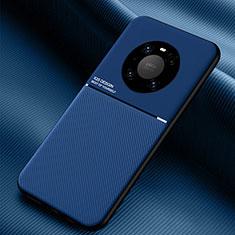 Custodia Silicone Ultra Sottile Morbida 360 Gradi Cover C01 per Huawei Mate 40 Blu
