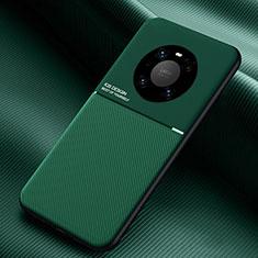 Custodia Silicone Ultra Sottile Morbida 360 Gradi Cover C01 per Huawei Mate 40 Pro Verde