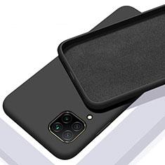 Custodia Silicone Ultra Sottile Morbida 360 Gradi Cover C01 per Huawei P40 Lite Nero