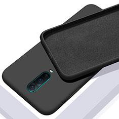 Custodia Silicone Ultra Sottile Morbida 360 Gradi Cover C01 per Oppo RX17 Pro Nero