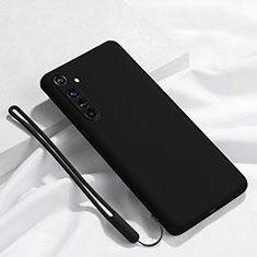 Custodia Silicone Ultra Sottile Morbida 360 Gradi Cover C01 per Realme X50 Pro 5G Nero