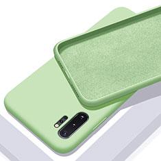 Custodia Silicone Ultra Sottile Morbida 360 Gradi Cover C01 per Samsung Galaxy Note 10 Plus 5G Verde