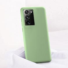 Custodia Silicone Ultra Sottile Morbida 360 Gradi Cover C01 per Samsung Galaxy Note 20 5G Verde