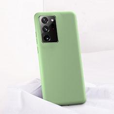 Custodia Silicone Ultra Sottile Morbida 360 Gradi Cover C01 per Samsung Galaxy Note 20 Ultra 5G Verde