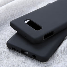 Custodia Silicone Ultra Sottile Morbida 360 Gradi Cover C01 per Samsung Galaxy S10e Nero