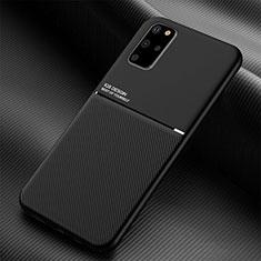 Custodia Silicone Ultra Sottile Morbida 360 Gradi Cover C01 per Samsung Galaxy S20 Plus Nero