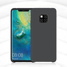 Custodia Silicone Ultra Sottile Morbida 360 Gradi Cover C02 per Huawei Mate 20 Pro Nero