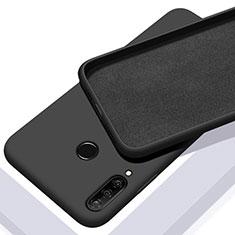 Custodia Silicone Ultra Sottile Morbida 360 Gradi Cover C02 per Huawei P30 Lite Nero