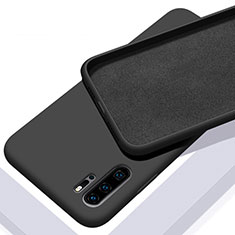 Custodia Silicone Ultra Sottile Morbida 360 Gradi Cover C02 per Huawei P30 Pro Nero