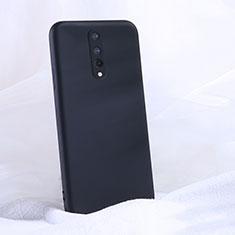 Custodia Silicone Ultra Sottile Morbida 360 Gradi Cover C02 per OnePlus 8 Nero