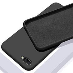 Custodia Silicone Ultra Sottile Morbida 360 Gradi Cover C02 per Oppo R17 Neo Nero