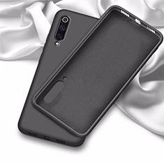 Custodia Silicone Ultra Sottile Morbida 360 Gradi Cover C02 per Samsung Galaxy A70 Nero
