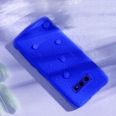 Custodia Silicone Ultra Sottile Morbida 360 Gradi Cover C02 per Samsung Galaxy S10e Blu