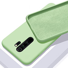 Custodia Silicone Ultra Sottile Morbida 360 Gradi Cover C02 per Xiaomi Redmi Note 8 Pro Verde