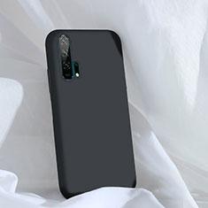 Custodia Silicone Ultra Sottile Morbida 360 Gradi Cover C03 per Huawei Honor 20 Pro Nero
