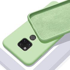 Custodia Silicone Ultra Sottile Morbida 360 Gradi Cover C03 per Huawei Mate 20 X 5G Verde