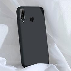Custodia Silicone Ultra Sottile Morbida 360 Gradi Cover C03 per Huawei P30 Lite New Edition Nero