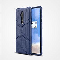 Custodia Silicone Ultra Sottile Morbida 360 Gradi Cover C03 per OnePlus 7T Pro Blu