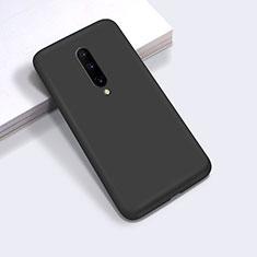 Custodia Silicone Ultra Sottile Morbida 360 Gradi Cover C03 per OnePlus 8 Nero