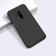 Custodia Silicone Ultra Sottile Morbida 360 Gradi Cover C03 per OnePlus 8 Pro Nero