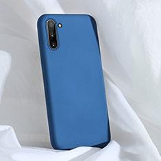 Custodia Silicone Ultra Sottile Morbida 360 Gradi Cover C03 per Samsung Galaxy Note 10 5G Blu