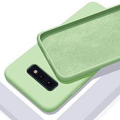 Custodia Silicone Ultra Sottile Morbida 360 Gradi Cover C03 per Samsung Galaxy S10e Verde