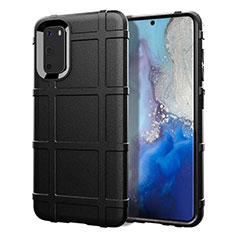 Custodia Silicone Ultra Sottile Morbida 360 Gradi Cover C03 per Samsung Galaxy S20 5G Nero