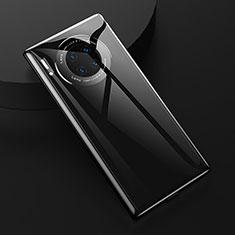 Custodia Silicone Ultra Sottile Morbida 360 Gradi Cover C04 per Huawei Mate 30 Pro Nero