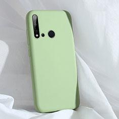 Custodia Silicone Ultra Sottile Morbida 360 Gradi Cover C04 per Huawei P20 Lite (2019) Verde