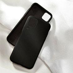 Custodia Silicone Ultra Sottile Morbida 360 Gradi Cover C04 per Huawei P40 Lite Nero