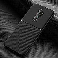Custodia Silicone Ultra Sottile Morbida 360 Gradi Cover C04 per Xiaomi Redmi Note 8 Pro Nero