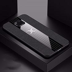 Custodia Silicone Ultra Sottile Morbida 360 Gradi Cover C05 per Huawei Mate 20 Pro Nero